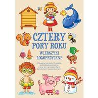 Książki dla dzieci, Wierszyki logopedyczne. Cztery pory roku (opr. miękka)
