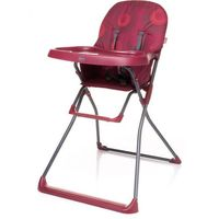 Krzesełka do karmienia, 4BABY Krzesełko Flower – ciemno czerwone - BEZPŁATNY ODBIÓR: WROCŁAW!