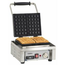 Pojedyncza gofrownica | 60°C do 300°C | 1600W | 230V | 290x415x(H)290mm