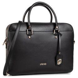 Aktówka LIU JO - Briefcase AF0215 E0087 Nero 22222
