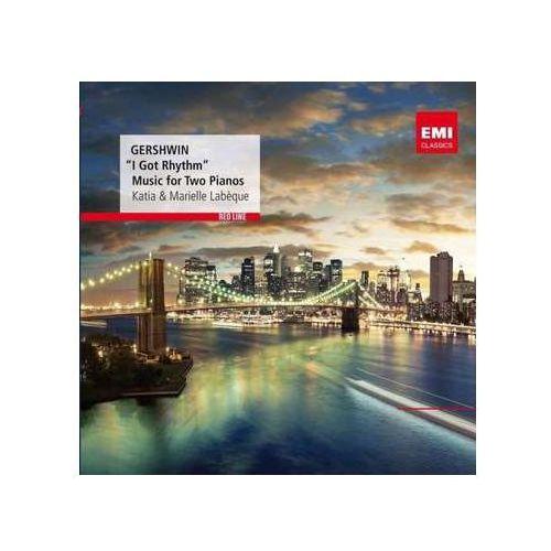 Pozostała muzyka rozrywkowa, RED LINE - MUSIC FOR TWO PIANOS - Katia & Marielle Labeque (Płyta CD)
