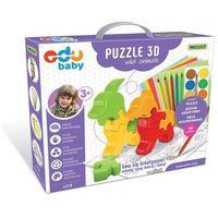 Puzzle, Puzzle 3D Wild Animals