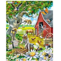Puzzle, Puzzle MAXI - Včelař s úlem/53 dílků neuveden