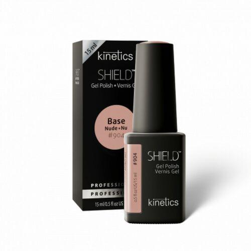 Podkłady i bazy do paznokci, Kinetics Shield BASE NUDE EQUAL BEIGE Baza hybrydowa Nude (904)