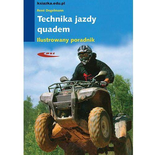 Biblioteka motoryzacji, Technika jazdy quadem - wysyłamy w 24h (opr. miękka)