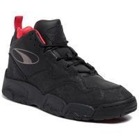 Męskie obuwie sportowe, Sneakersy PUMA - Source Mid World Cup 370599 01 P Blk/Bronze/High Risk Red