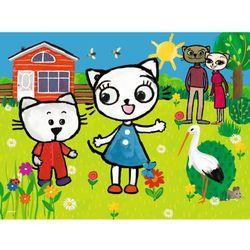 Puzzle 30 Przygody Kici Koci TREFL