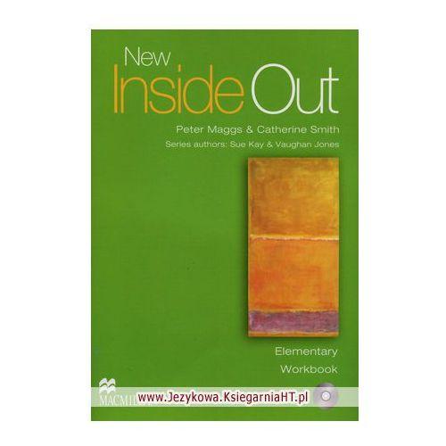 Książki do nauki języka, Inside Out New Elementary WB MACMILLAN - Peter Maggs, Catherine Smith (opr. miękka)
