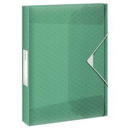 Teczka plastikowa na gumkę Esselte colour ice poszerzana A4 kolor: zielony (626265)