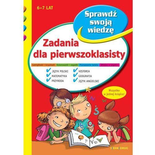 Książki dla dzieci, Zadania dla pierwszoklasisty w.2020 (opr. broszurowa)