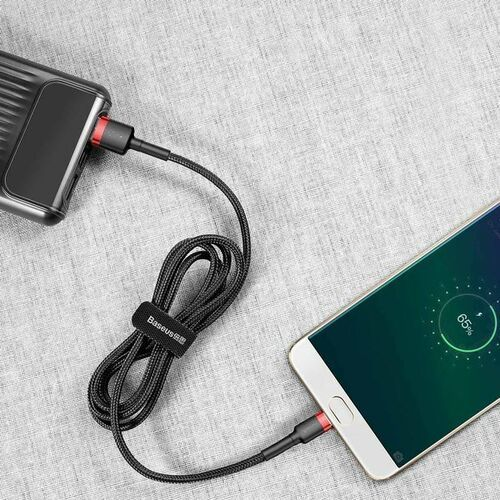 Smartbandy, Baseus Cafule | Kabel USB - Micro USB dwustronny Quick Charge 2.4A 100cm