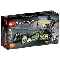 Klocki dla dzieci, 42103 DRAGSTER KLOCKI LEGO TECHNIC
