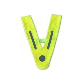 Szelki odblaskowe dla dzieci i młodzieży żółte - żółty