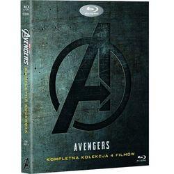 AVENGERS PAKIET 1-4 (5BD) (Płyta BluRay)