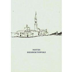 Notes HerbertowskiNotes HerbertowskiNOTES HERBERTOWSKI (opr. broszurowa)