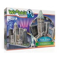 Puzzle, Wrebbit puzzle 3D 925 el. New York Financial DT