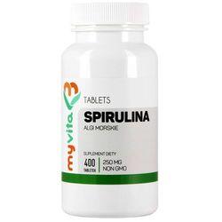 Spirulina tabletki 400 tabletek 250mg MyVita