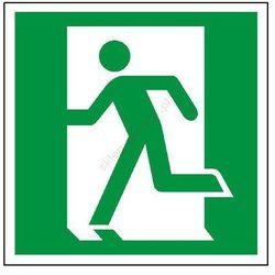 Znak Drzwi ewakuacyjne (lewe)
