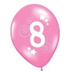 Balony z nadrukiem 8 - 30 cm - 12 szt.