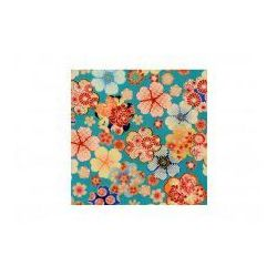 Furoshiki Niebieskie Kwiaty S