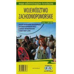 Województwo zachodniopomorskie mapa administracyjno-turystyczna 1:280 000