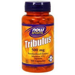 Now Foods Tribulus standaryzowany extract 500mg 100 kaps.