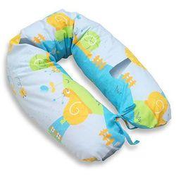 MAMO-TATO Poduszka dla kobiet w ciąży Ślimaki w błękicie