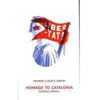 Książki do nauki języka, Homage to Catalonia - Orwell George - książka (opr. miękka)