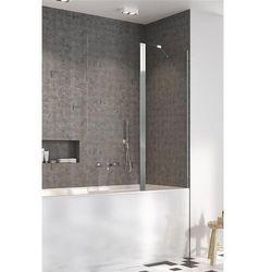 Radaway parawan nawannowy Nes PND II 130 cm prawy, szkło przejrzyste, wys. 150 cm. 10009130-01-01R