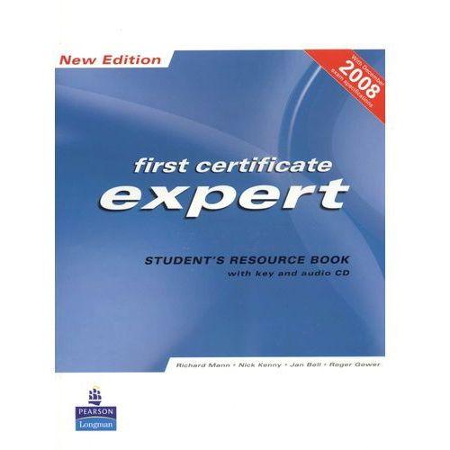 Książki do nauki języka, FCE Expert New Edition Student's Resource Book with Key plus Audio CD (opr. miękka)