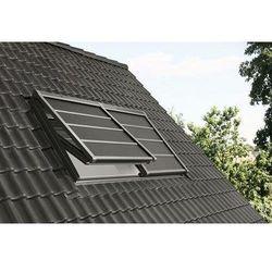 Markiza zewnętrzna VELUX SSS UK10 134x160 zaciemniająca solarna