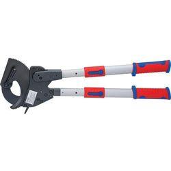 KNIPEX Nożyce zapadkowe do cięcia kabli i przewodów do śr. 60/100 mm (95 32 060)