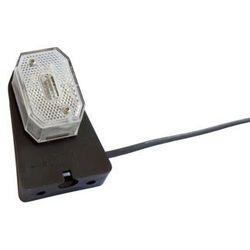 Lampa obrysowa do przyczep Aspöck Flexipoint biały 0,5M
