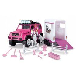Playlife różowy zestaw dżokejki