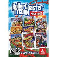 Gry PC, Rollercoaster Tycoon Mega Pack (PC)
