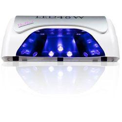 Lampa LED UV 48 W - srebrna - najmocniejsza na rynku do hybryd i żeli - NOWOŚĆ!!!