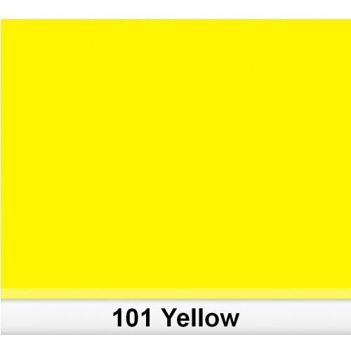Akcesoria DJ, Lee 101 Yellow filtr barwny folia - arkusz 50 x 60 cm