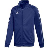 Odzież do sportów drużynowych, Bluza dla dzieci adidas Core 18 Polyester Jacket JUNIOR granatowa CV3577