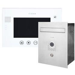 Zestaw wideodomofonu skrzynka na listy Vidos S551-SKP M670W