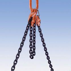 Łańcuch do dźwigów z możliwością skrócenia - klasa jakości 10, 2-cięgnowy, dł. u