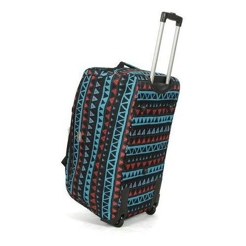 Torby i walizki, Torba podróżna na kółkach wielokolorowa kratka