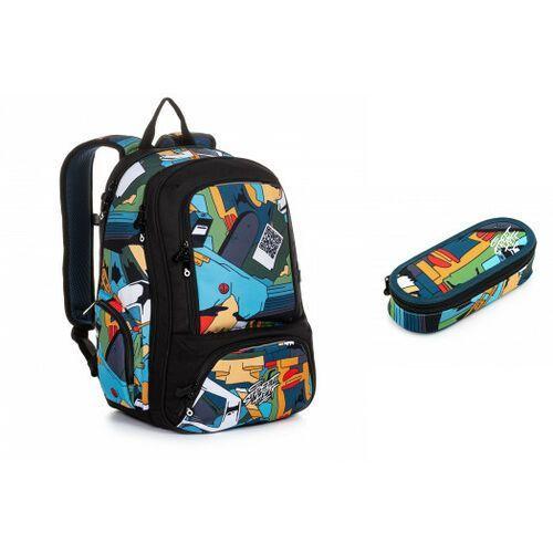 Tornistry i plecaki szkolne, Plecak młodzieżowy Topgal SURI 20035 B