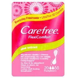 Carefree Flexi Comfort Aloe Extract Wkładki higieniczne 1op.-20szt