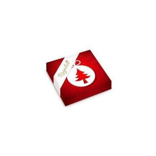 Serwetki, Serwetki Royalite 33/3/20 Czerwone bombka