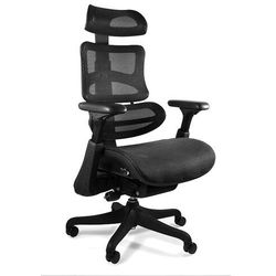 Fotel UNIQUE ERGOTHRONE z podnóżkiem (CM-B37A-3-B37) - ZŁAP RABAT: KOD200