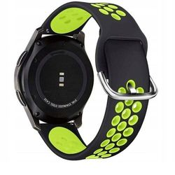 Pasek Softband do Galaxy Watch 3 45mm Black/Lime