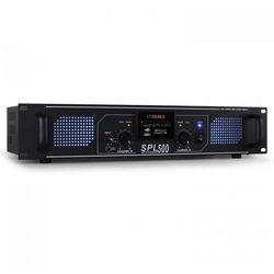 Skytec SPL-500 Wzmacniacz nagłośnieniowy HiFi USB SD 1600W