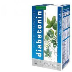 Diabetonin (60 kaps.) - Suplement diety na cukrzycę, stabilizujący poziom cukru w organiźmie. DARMOWA DOSTAWA OD 65 ZŁ