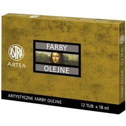 Farby olejne ASTRA 12ml. op.12 kolorów zestaw nr.2