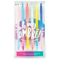 Ołówki, Mechaniczne Ołówki W Tęczowej Oprawie Ombre 6 sztuk